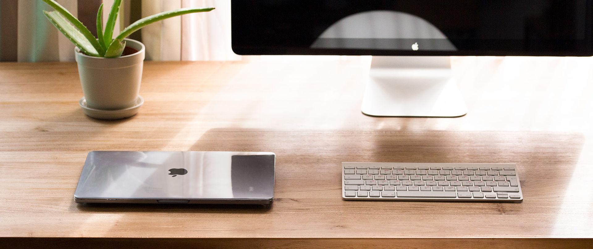 Das durchsichtige MacBook Case