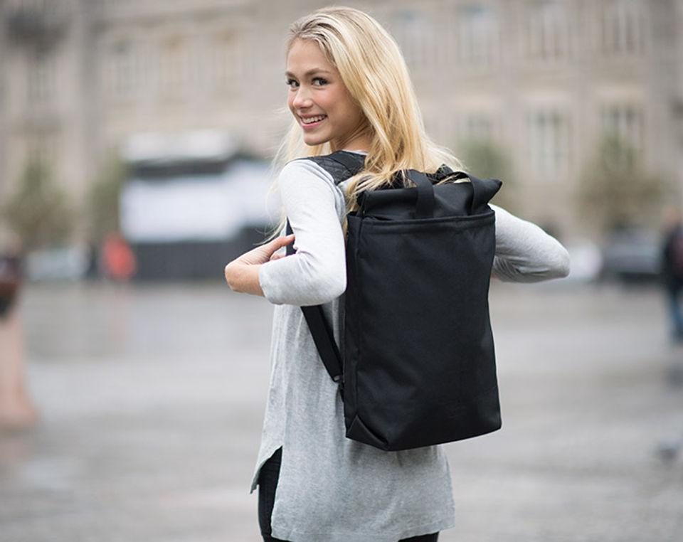 Stilvoller Notebook Rucksack