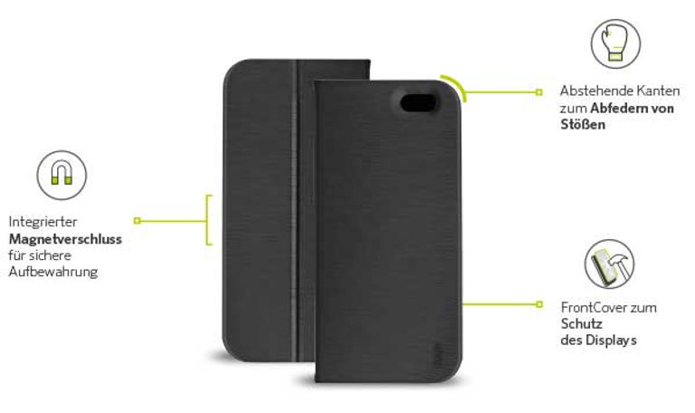 A strong and durable protective case needs to protect your mobile device from all sides.