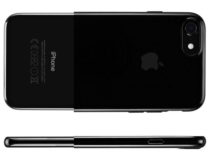 iPhone 7 mit schwarzem