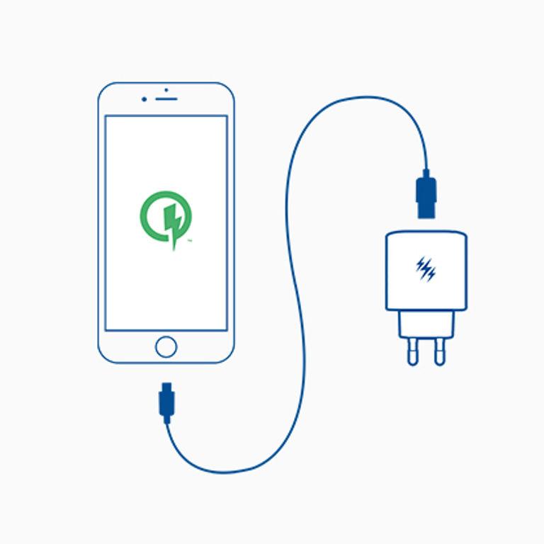 Wie funktioniert das Schnelle Laden mit Quick Charge™?
