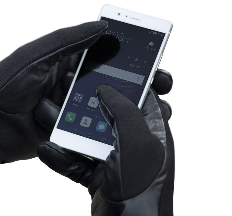 Dauerhafte Touch-Funktion an der gesamten Lederoberfläche