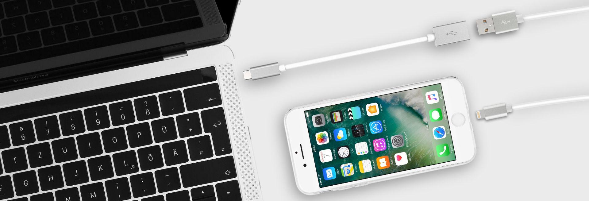 Verbinde Dein neues USB-C Produkt mit USB-A Geräten
