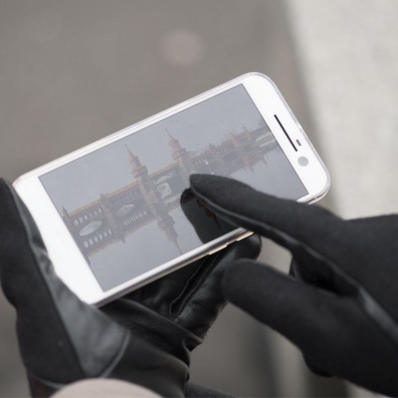 Mit den SmartGlove mobil gewappnet gegen Kälte und Schnee
