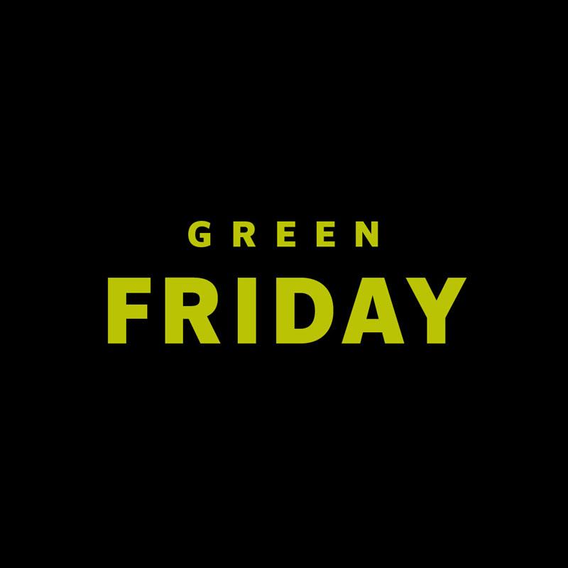 Der Green Friday 2018 steht bevor