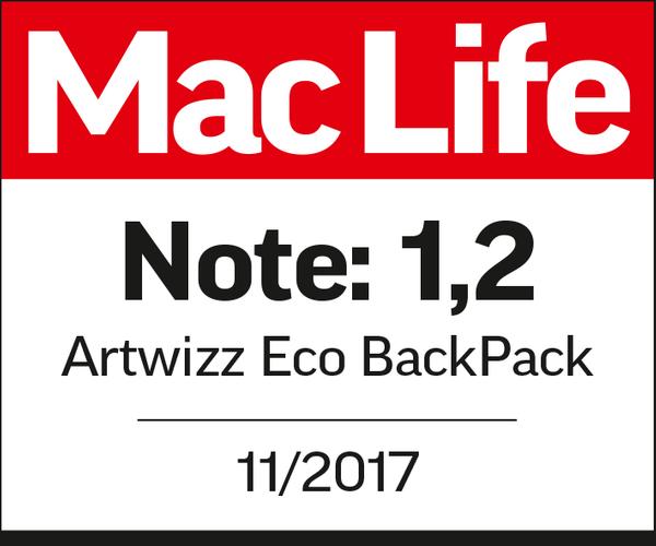 Eco BackPack überzeugt die Fachpresse