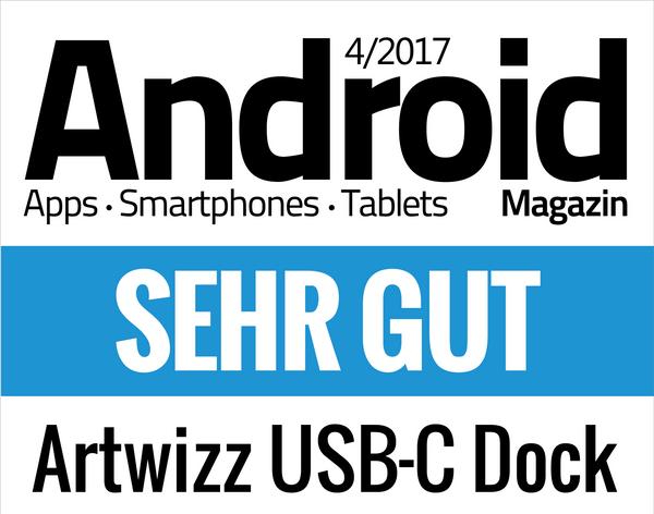 Bestwertung für das USB-C Dock