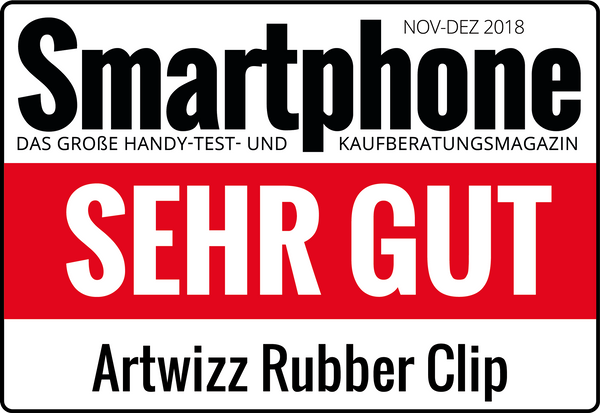 Das Artwizz Rubber Clip im Test:
