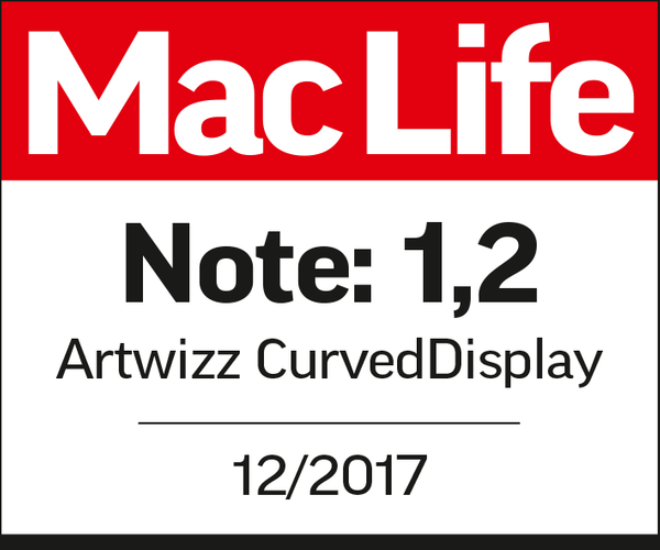 Top rating to the Artwizz CurvedDisplay: